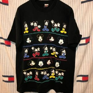 Vintage Mickey Mouse short sleeve shirt
